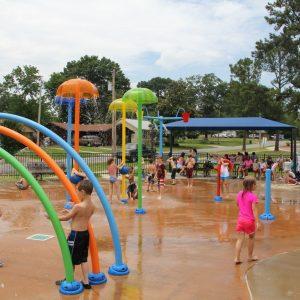Tyndall Park Splash Pad - Benton, AR gallery thumbnail